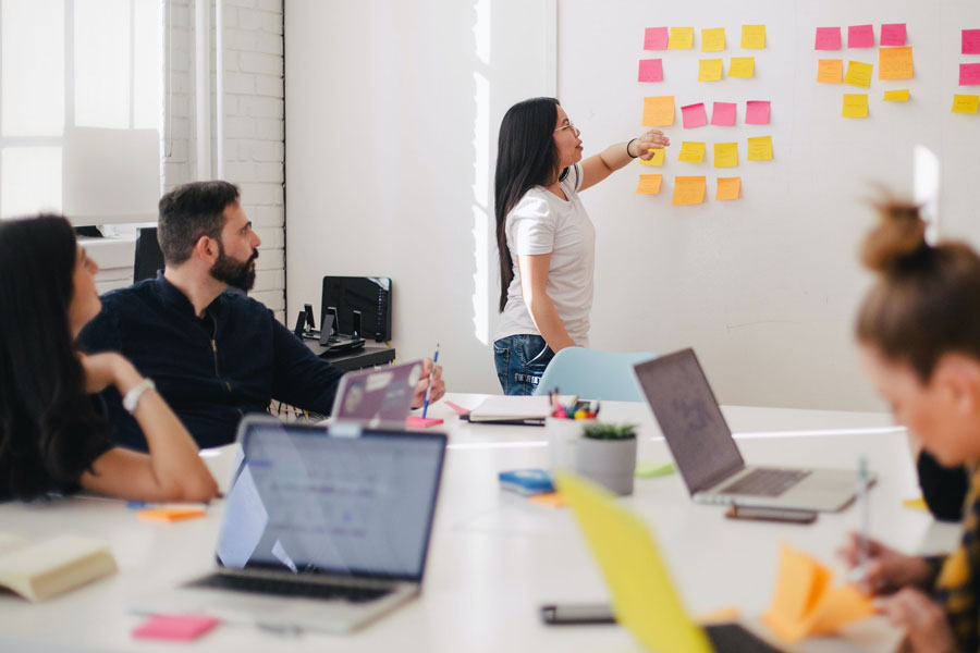 Work with digital agency
