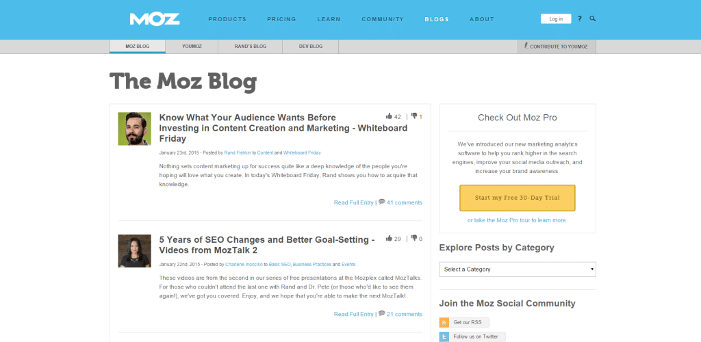moz-blog