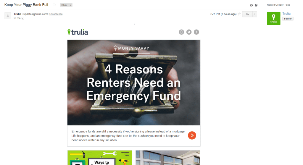 trulia-marketing-email