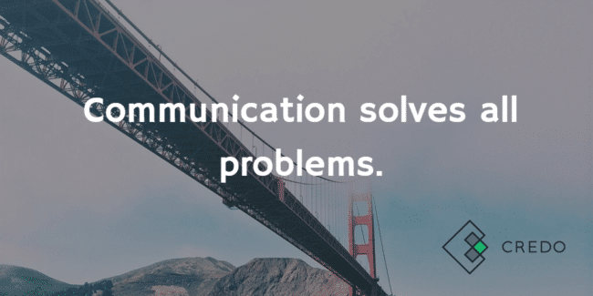 communication-solves