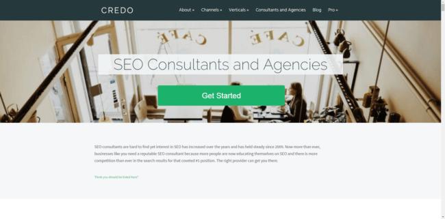 SEO consultants - Credo