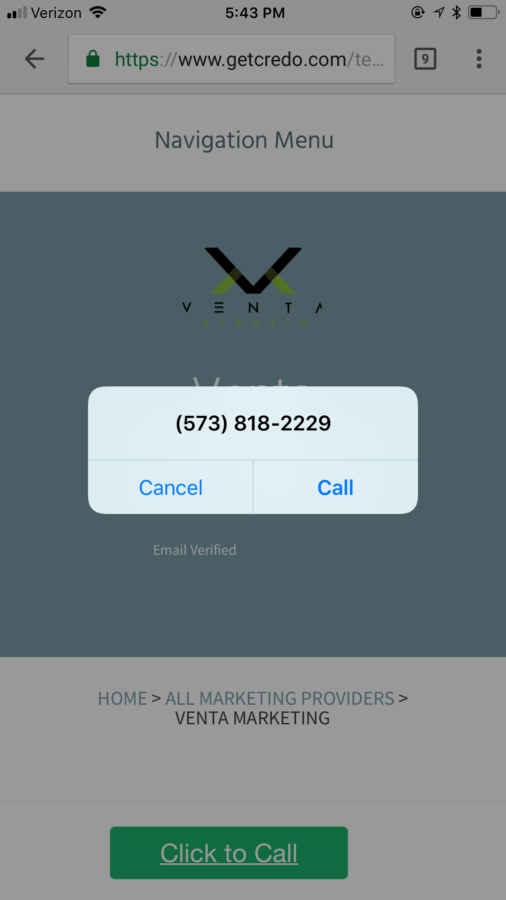 how to create a phone number link
