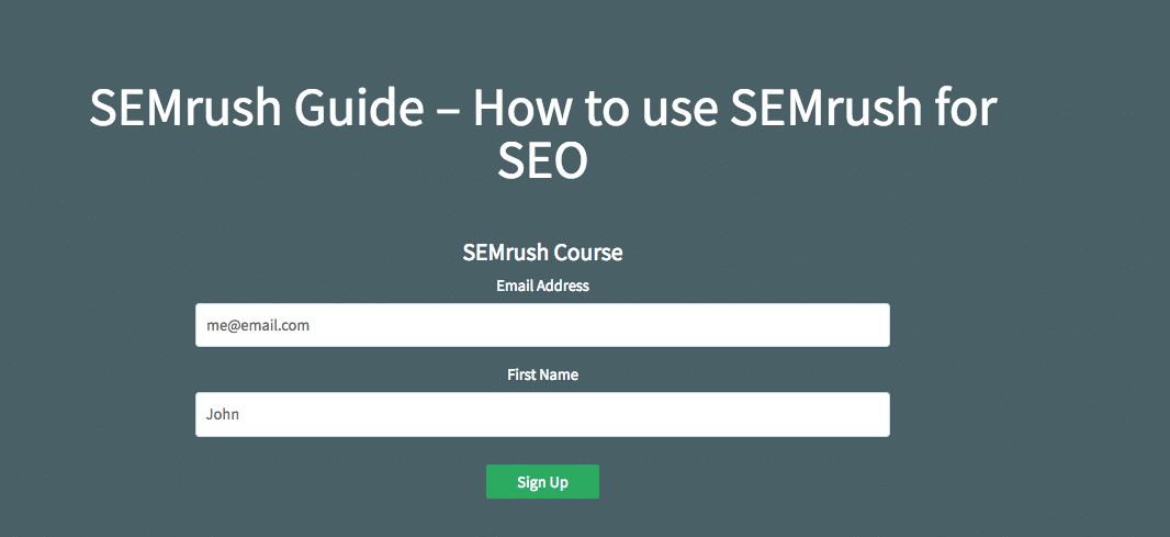 Our Semrush Guide PDFs