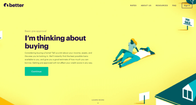 Better-Mortgage-landing-page