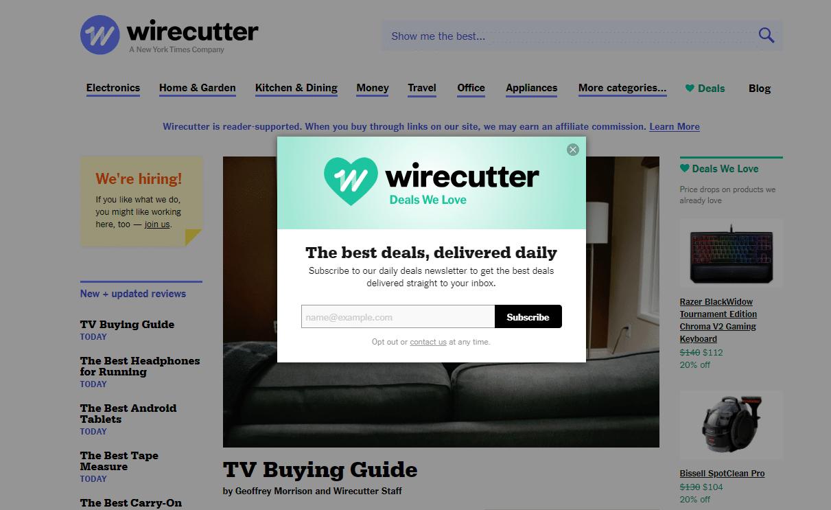 Wirecutter-Overlay-Box