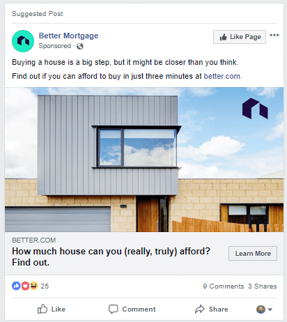 Better-Mortgage-on-Facebook-Feed