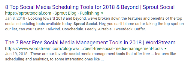 Social-Media-Tool-Search-Results