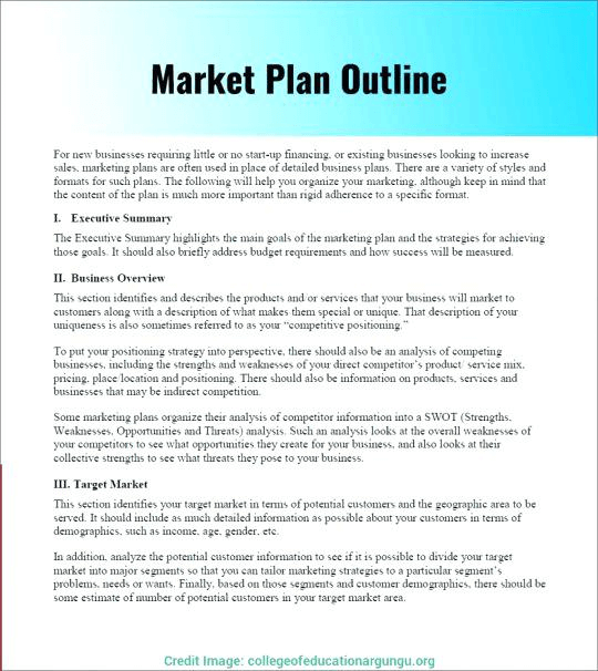 How To Build A Marketing Plan In 2020 Credo