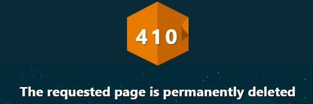 410 status code example