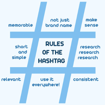 rules of the hashtag